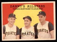 Danny's All-Stars (Frank Thomas, Danny Murtaugh, Ted Kluszewski) [EX]