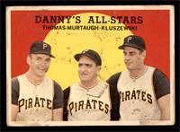 Danny's All-Stars (Frank Thomas, Danny Murtaugh, Ted Kluszewski) [FAIR]