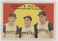 Danny's All-Stars (Frank Thomas, Danny Murtaugh, Ted Kluszewski)