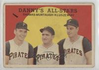 Danny's All-Stars (Frank Thomas, Danny Murtaugh, Ted Kluszewski) [Poor]