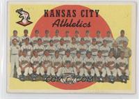 Kansas City Athletics Team (3rd Series Checklist 177-242)