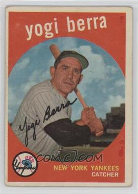 1959 Topps - [Base] #180 - Yogi Berra [Good to VG‑EX]