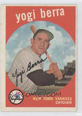 1959 Topps - [Base] #180 - Yogi Berra