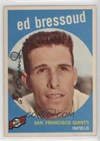 Eddie Bressoud (Red Bar Visible Next to Card #) [GoodtoVG‑EX]