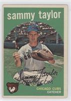 Sammy Taylor [GoodtoVG‑EX]