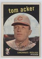Tom Acker (grey back) [GoodtoVG‑EX]