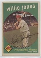 Willie Jones (white back)