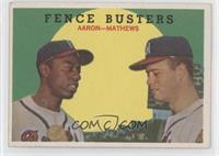 Fence Busters (Hank Aaron, Eddie Mathews) (Grey Back)
