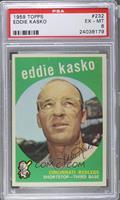 Eddie Kasko (white back) [PSA6]