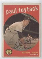 Paul Foytack (grey back) [GoodtoVG‑EX]