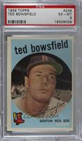 Ted Bowsfield (white back) [PSA 6 EX‑MT]