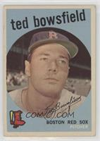 Ted Bowsfield (white back) [Poor to Fair]