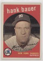 Hank Bauer (grey back)