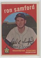 Ron Samford (white back)