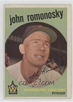 John Romonosky (grey back)