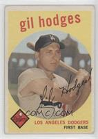 Gil Hodges (gray back) [Good to VG‑EX]