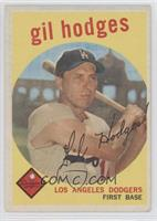 Gil Hodges (white back) [Good to VG‑EX]