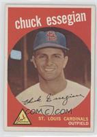 Chuck Essegian (grey back)