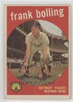 Frank Bolling (White Back) [Poor]