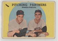 Pitching Partners (Pedro Ramos, Camilo Pascual) [Poor]