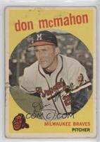 Don McMahon [Poor]
