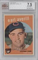 Earl Averill, Jr [BVG 7.5]