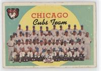 Chicago Cubs Team (4th Series Checklist) [Good to VG‑EX]