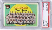 Chicago Cubs Team (4th Series Checklist) [PSA6]