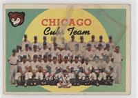 Chicago Cubs Team (4th Series Checklist) [Poor]