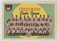 Chicago Cubs Team (4th Series Checklist)