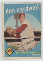 Don Cardwell [Good to VG‑EX]