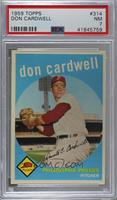 Don Cardwell [PSA 7 NM]