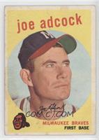 Joe Adcock [GoodtoVG‑EX]