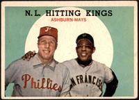 N.L. Hitting Kings (Richie Ashburn, Willie Mays) [FAIR]