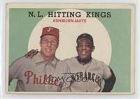 N.L. Hitting Kings (Richie Ashburn, Willie Mays) [NonePoortoF…