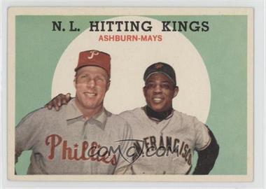 1959 Topps - [Base] #317 - N.L. Hitting Stars (Richie Ashburn, Willie Mays) [GoodtoVG‑EX]