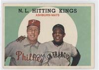 N.L. Hitting Stars (Richie Ashburn, Willie Mays)