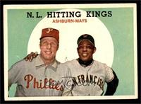 N.L. Hitting Stars (Richie Ashburn, Willie Mays) [VG EX]