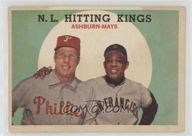 1959 Topps - [Base] #317 - N.L. Hitting Stars (Richie Ashburn, Willie Mays)
