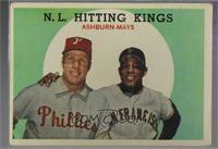 N.L. Hitting Stars (Richie Ashburn, Willie Mays) [PoortoFair]
