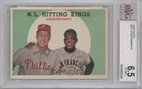 N.L. Hitting Stars (Richie Ashburn, Willie Mays) [BVG 6.5]