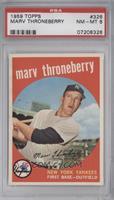 Marv Throneberry [PSA8NM‑MT]