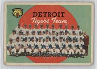 Detroit Tigers Team [Poor]