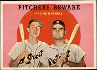 Pitchers Beware (Al Kaline, Charlie Maxwell) [EXMT+]