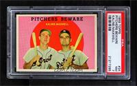 Pitchers Beware (Al Kaline, Charlie Maxwell) [PSA7]