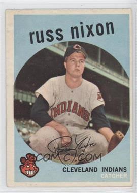 1959 Topps - [Base] #344 - Russ Nixon