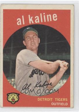 1959 Topps - [Base] #360 - Al Kaline [Good to VG‑EX]