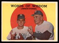 Words of Wisdom (Don Larsen, Casey Stengel) [VG EX]