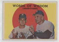 Words of Wisdom (Don Larsen, Casey Stengel) [Poor to Fair]