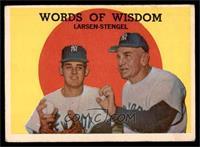 Words of Wisdom (Don Larsen, Casey Stengel) [VG]